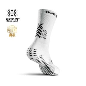 Soxpro | Ultra Light Grip Socks | White