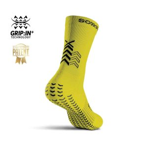 Soxpro | Ultra Light Grip Socks | Yellow